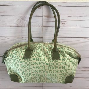 Dooney & Bourke Green Purse